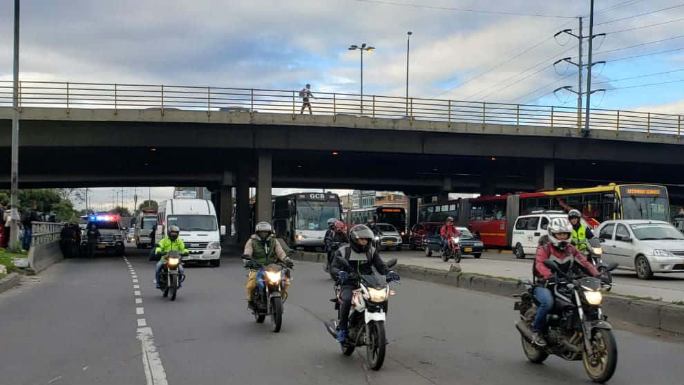 autopista norte bogota accidente