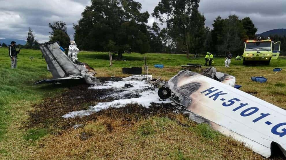 Accidente Avioneta