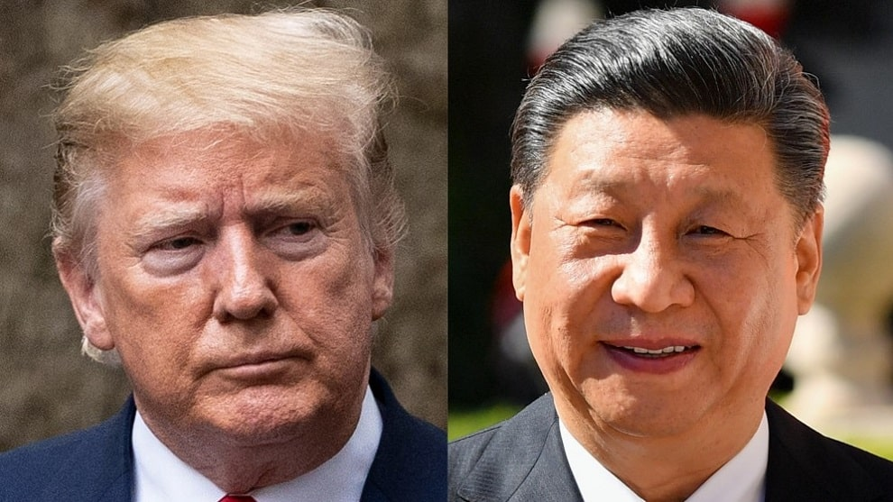 Los presidentes Donald Trump (EEUU) y Xi Jinping (China). NoticiasRCN.com