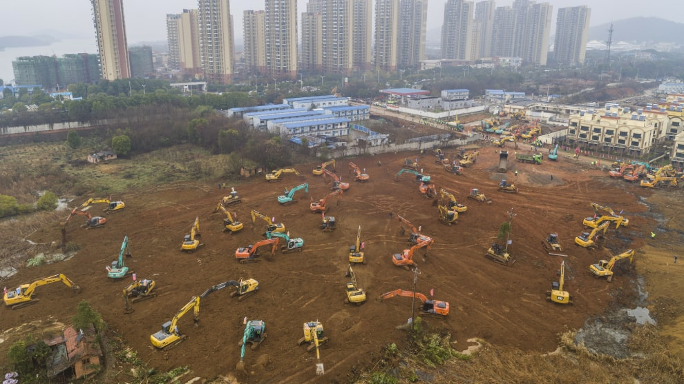 De no creer, ¡China construirá hospital en tan solo 10 días!