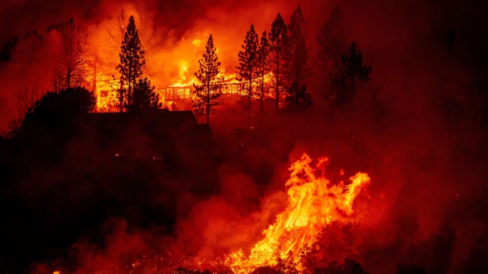 Incendios en California, Estados Unidos
