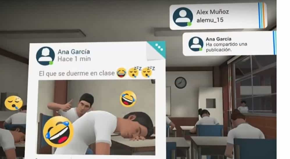 Mision realidad virtual Facebook