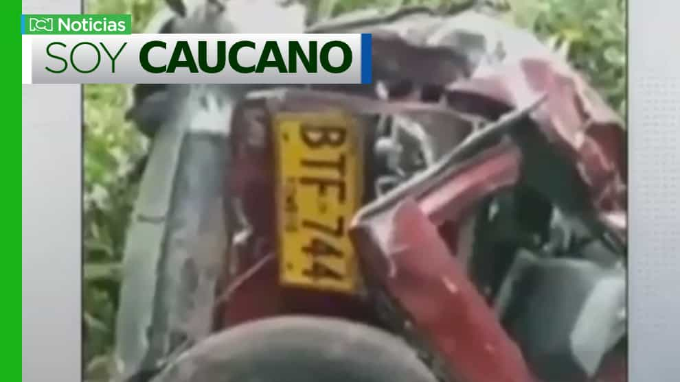 Falta accidente en vías de Cauca