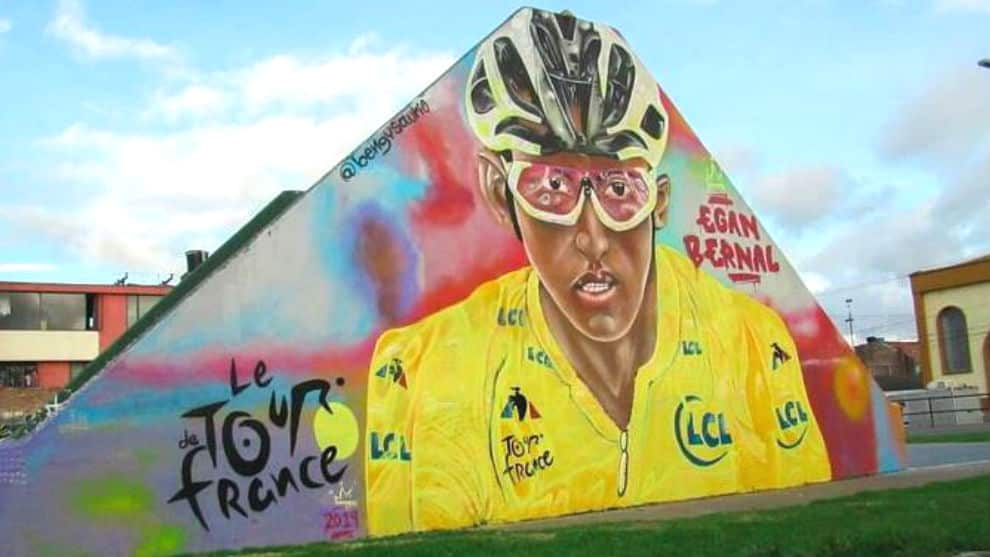 mural egan bernal zipaquira
