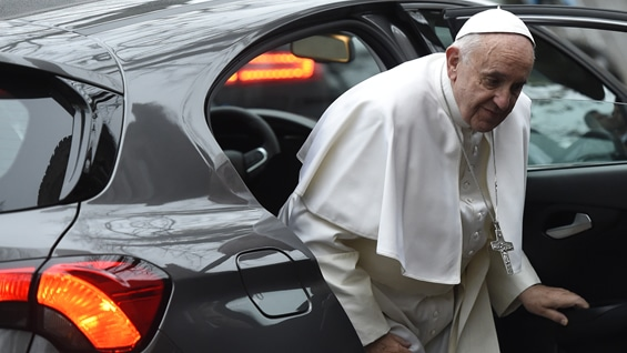 El papa Francisco. Foto: AFP.