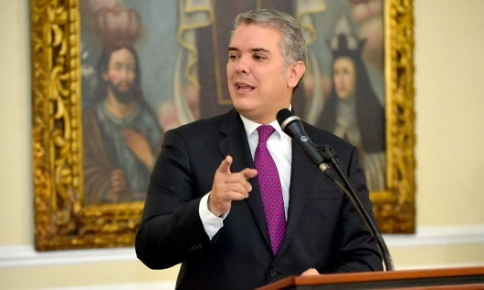 FOTO: Presidente Iván Duque. NoticiasRCN.com