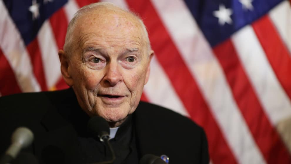 excardenal Theodore McCarrick